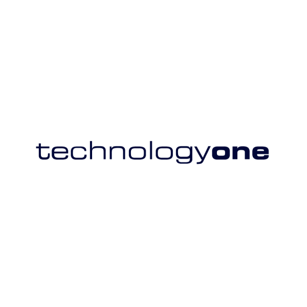 TechnologyOne White Logo