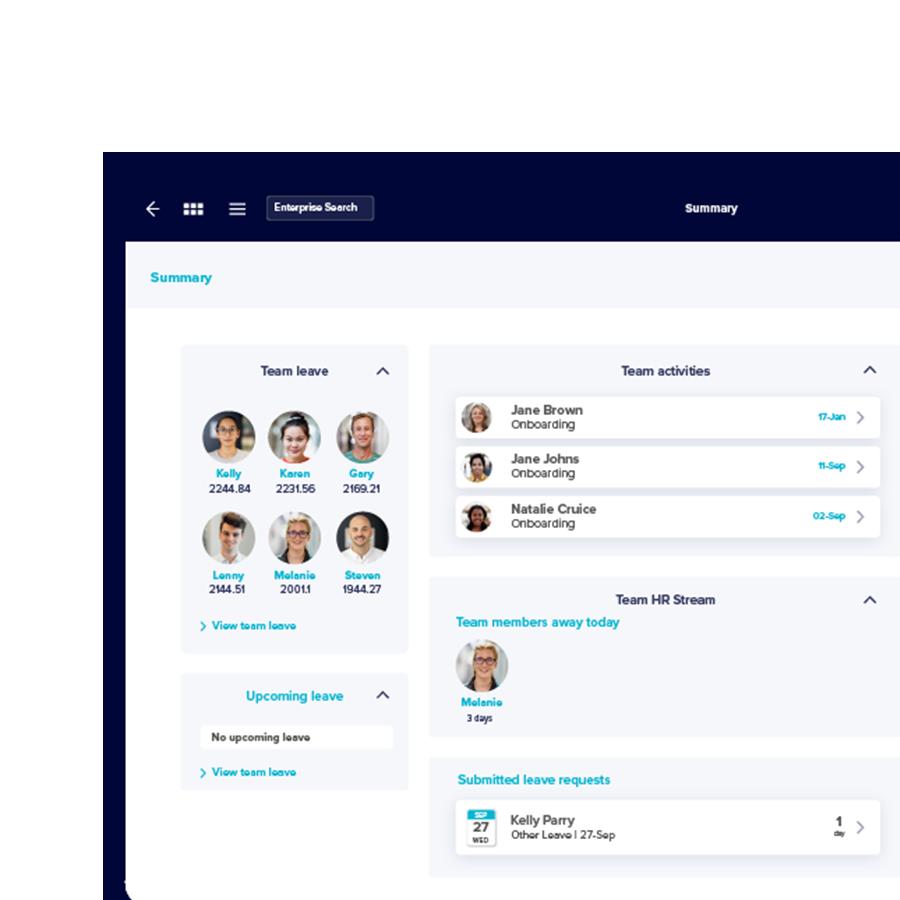 Employee Self Service - TechnologyOne